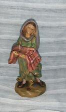 """Fontanini 5"""" figure Girl with blanket 1994"""