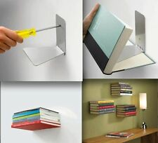 Invisible Conceal Book Shelf! Floating Bookshelf! Home Decor Design!