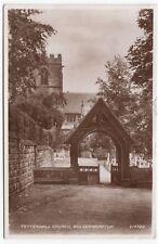 Wolverhampton; Tettenhall Church, Lych Gate RP PPC, 1940's Local PMK