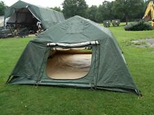U.S. Army MILITARY 10x10 SOLDIER CREW TENT W/ FLY & FLOOR