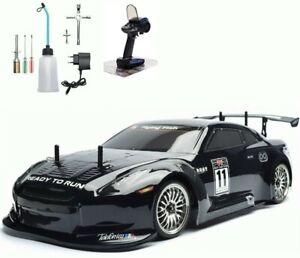 HSP RC Car 4WD Nitro Gas Power Remote Control Car 1:10 Scale Road Drift Racing