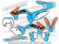 NitroMX Graphic Kit for KTM EXC EXC-F 125 250 300 350 450 2012 2013 Enduro Decal