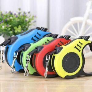 3/5m Dog Leash Automatic Retractable Durable Dog Leash Auto Traction Lead Rope