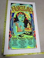 2002 Rock Roll Concert Poster Hukilau SN#150 Tiki Penetrators Trader Vic's
