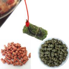 1 bolso/lote Rojo Grass Carpa Bloodworm Cebos De Pesca Colgante 3 Estilos