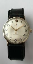 Vintage Hamilton Watch Automatic 10k RGP Cal. 689A Red Seconds Hand CLASSIC DIAL