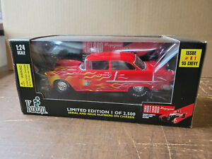 Racing Champions-Hot Rod Magazine 50th Anniversary 1955 Chevy 1:24th Scale 07900