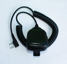 2PIN Shoulder Speaker Mic FOR KENWOOD TYT F8 BAOFENG UV5R PX-777 Radio New