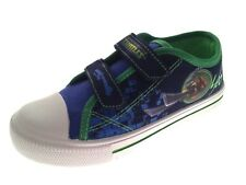 Kids Canvas Pumps Boys Girls Character Trainers Summer Shoes Casual Plimsolls