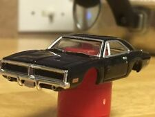 Autoworld Xtraction General Lee Black Birthday Charger HO Slot Car Body Fits AFX