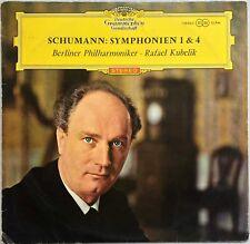 RAFAEL KUBELIK / SCHUMANN Symphonien 1 & 4 DGG 138 860 SLPM RED STEREO VG+/VG+