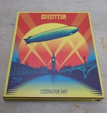 Led Zeppelin Celebration Day CD + Blu Ray Box Set w Booklet Free UK P+P