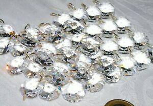 Kristall Lüster Behang Strass Bleikristall Ersatz für Kronleuchter 10x Straenge