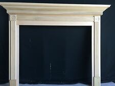 Fireplace -Mantel Surround, 1010 P/G ROSETTE- 48 x 42  inside opening