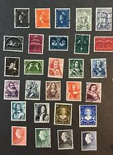 Nederland 1938-1962 VF Used Complete Sets Catalogs $21