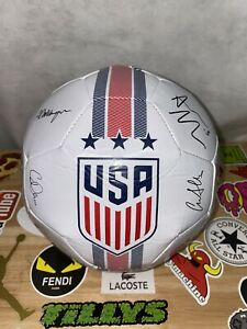 NEW USA Women FIFA World Cup 2019 Player Signature Soccer Ball Size 5 Has No Box