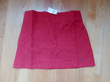 NWT Hollister Northside Skirt Red Large by Abercrombie