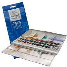 Winsor & Newton Cotman Studio Watercolour Studio Set - 45 Half Pans