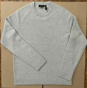 NWT Theory karlsson D O Cashmere Crewneck Sweater Concrete K048701R - Size M