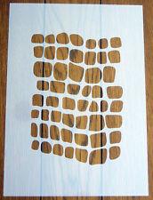 RETTILE Pattern Stencil Riutilizzabile Mylar Foglio per Arts & Crafts, fai da te