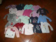 91 Teile Kleinkinder Kleidung + Schuhe + Schlafsäcke Mädchen Gr. 86/92 gt. Zust