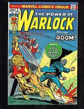 Warlock #5 ~ 1972, The Man Called Doom (9.2) WH