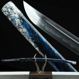 Clay Tempered Katana With Real Hamon T10 Steel Japanese Samurai Sword Real Sharp