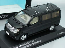 1/43 Rai's NISSAN ELGRAND (E51) VIP GUARD POLICE CAR 2008 (BLACK)