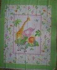 Safari Baby - 100% cotton panel