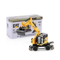 DM 1:87 Scale 85612 Cat Caterpillar M323 F Rail-Road Excavator Navvy Truck Model