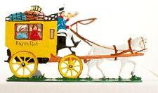 Babette Schweizer German Zinnfiguren Pewter - Bavarian Stagecoach