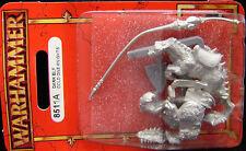 Warhammer Dark Elf  Cold One Knight  metal OOP random pose