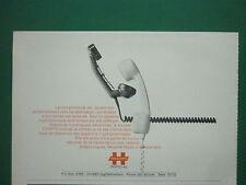 6/1977 PUB CRYPTO AG HAGELIN CRYPTOPHONIE LIAISONS TELEPHONE ORIGINAL FRENCH AD