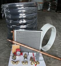 Outdoor Wood Furnace Boiler installation kit/heat exchanger/plate exchanger/ pex