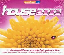 House 2008 - NEU Doppel CD - Sunshine Live
