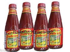 4 bottles Jufran BANANA SAUCE hot filipino ketchup