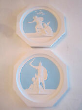 Lot Of 2 Greek Porcelain Collector'S Plates - Hallmark Stamped On Back
