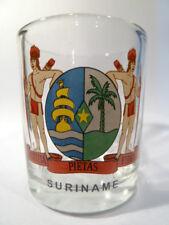 SURINAME SHOT GLASS SHOTGLASS