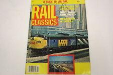 Rail Classics Magazine July 1980 Vol.9 - No.4