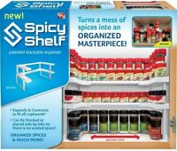 Spicy Shelf Spice Rack and Stackable Organizer - New