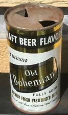 104-30 *Tough Flat Top!* Old Bohemian Draft Beer Can, Hammonton, Nj