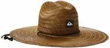 Quiksilver Mens Pierside Straw Hat ,Dark Brown ,Large/X-Large
