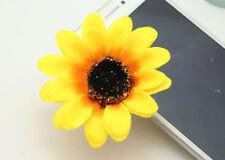 7cm sunflower Flower Hair Clip Wedding,Prom,Dance,Women's Accessories