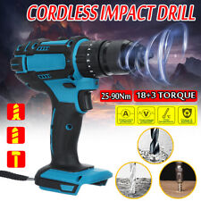 3 in 1 Electric Cordless Impact Wrench Drill Screwdriver For 18V Makita Battery