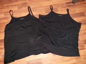 Ladies excersize Vests Size 30 x2    *