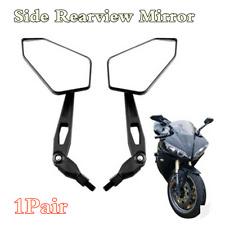 1 paio universale alluminio moto 7//20,3 cm Handle bar End retrovisore laterale specchi
