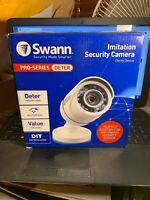 Swann Interior/Exterior Simulated/Imitation Security Camera w/Mount/Sticker
