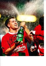Michael Owen Liverpool Original Hand Signed Photo 10x8