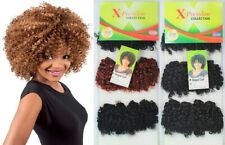 "Xpression Vogue Curl Weave Synthetic Hair 11"" Extensions 120g UK Stock"
