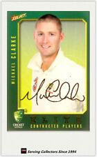 2008-09 Select Cricket Contract Player Foil Signature Card FS5 Michael Clarke